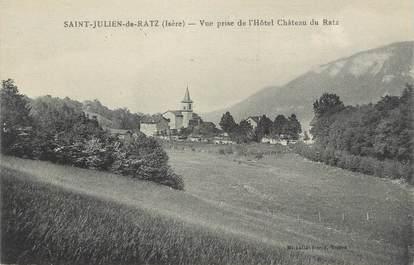 """CPA FRANCE 38 """" St Julien de Ratz, Vue prise de l''Hôtel Château du Raz"""""""