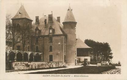 """CPA FRANCE 38 """" St Julien de Ratz, Hôtel Château"""""""