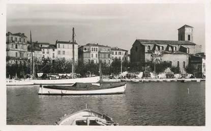 """CPA FRANCE 13 """" La Ciotat, Le port et l'église"""""""
