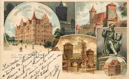 """CPA ALLEMAGNE """"Nürnberg"""" / Nüremberg"""