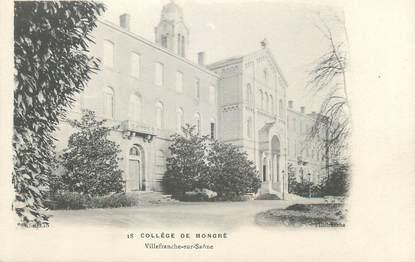 """CPA FRANCE 69 """" Villefranche sur Saône, Le Collège de Mongré"""""""