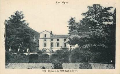"""CPA FRANCE 05 """"Chateau de Vitrolles"""""""