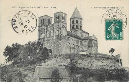 """CPA FRANCE 63 """" St Nectaire le Haut, Eglise"""""""