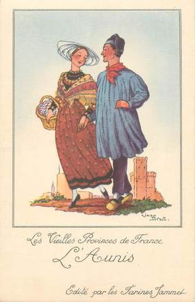 """CPA FRANCE 17 """" L'Aunis"""" / FOLKLORE"""