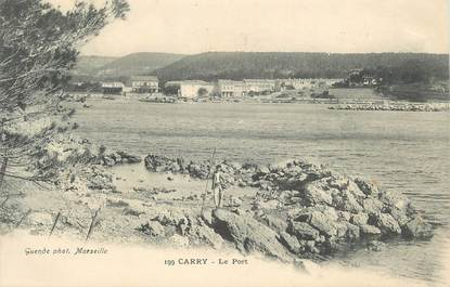 "CPA FRANCE 13 "" Carry le Rouet, Le port"""