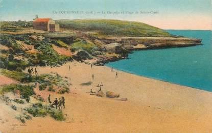 """CPA FRANCE 13 """" La Couronne, La Chapelle et la Plage de Ste Croix"""""""