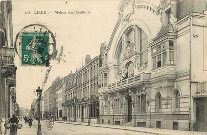 """CPA FRANCE 59 """"Lille, Maison des Etudiants"""""""