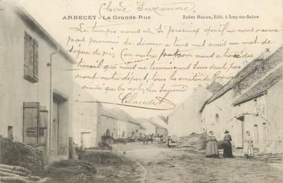 """CPA FRANCE 70 """" Arbecey, La grande rue"""""""