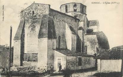 """CPA FRANCE 17 """" Sonnac, L'église"""""""