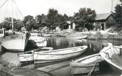 """CPSM FRANCE 17 """" La Tremblade, Les bords du Canal de la Seudre"""""""