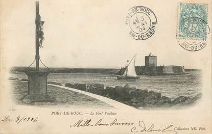 """CPA FRANCE 13 """" Port de Bouc Le Fort Vauban"""""""