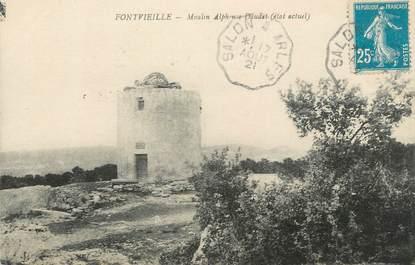 """CPA FRANCE 13 """" Fontvieille, Moulin Alphonse Daudet"""""""