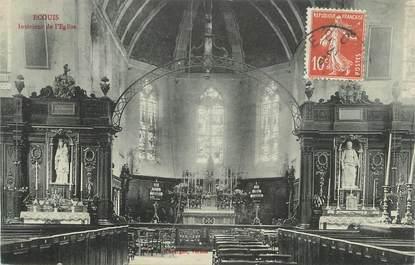"""CPA FRANCE 27 """" Ecouis, Intérieur de l'église"""""""