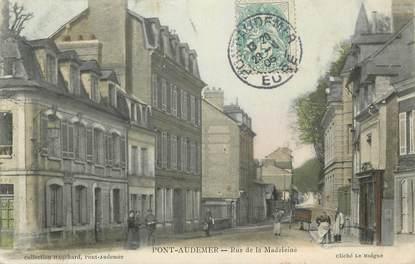 Cpa france 27 pont audemer rue de la madeleine 27 for Buro 27 pont audemer