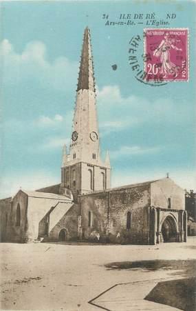 """CPA FRANCE 17 """" Ile de Ré, l'église"""""""