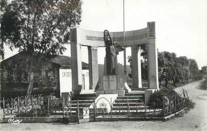 """CPSM ALGERIE """"Jemmapes, Le monument aux morts"""""""
