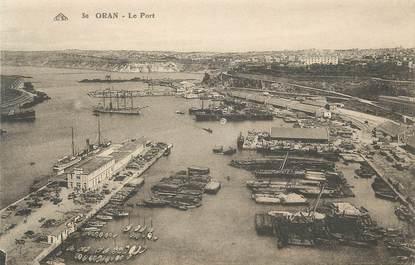 """CPA ALGERIE """"Oran, Le port"""""""
