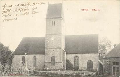 "CPA FRANCE 50 ""Cuves, l'Eglise"""