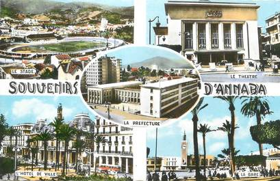 "CPSM ALGERIE "" Annaba, Vues"""