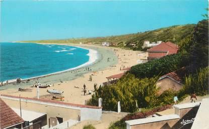 """CPSM ALGERIE """" Surcouf, La plage"""""""