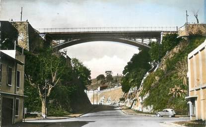 """CPSM ALGERIE """"Bône, Le pont de la Tranchée"""""""