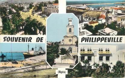 "CPSM ALGERIE ""Philippeville, Vues"""