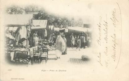 """CPA ALGERIE """"Alger, Place des Chartres"""" / GEISER"""