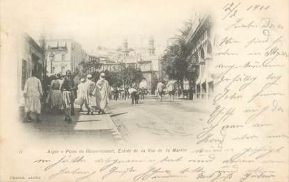 """CPA ALGERIE """"Alger, Place du Gouvernement""""/ GEISER"""