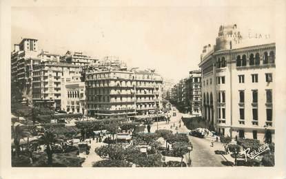 """CPA ALGERIE """"Alger, Le Plateau des Glières"""""""