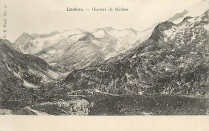 "CPA FRANCE 31 ""Luchon, Glaciers de Néthou"""