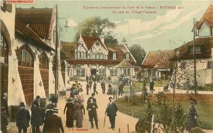 """CPA FRANCE 59 """"Roubaix, Exposition internationale du Nord de la France"""""""