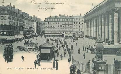 """CPA FRANCE 75 """"Paris 2ème, Place de la Bourse"""""""