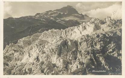 """CPA SUISSE """"Un glacier"""""""