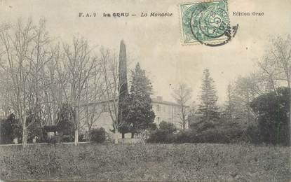 """CPA FRANCE 83 """"La Crau, La Monache"""""""