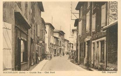 """CPA FRANCE 38 """" Roussillon, Grande rue"""""""
