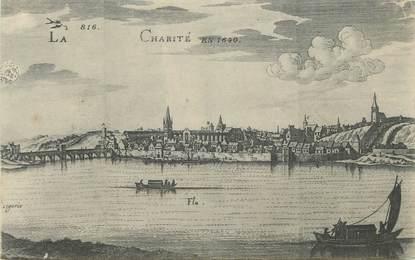 """CPA FRANCE 58 """"La Charité en 1640"""""""