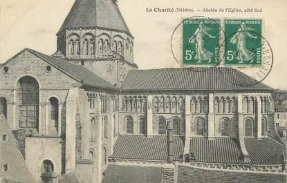 """CPA FRANCE 58 """"La Charité, Abside de l'église """""""