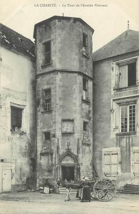 """CPA FRANCE 58 """"La Charité, La tour de l'ancien Couvent"""""""
