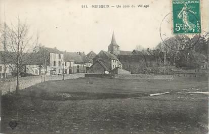 """CPA FRANCE 63 """" Meisseix, Un coin du village"""""""