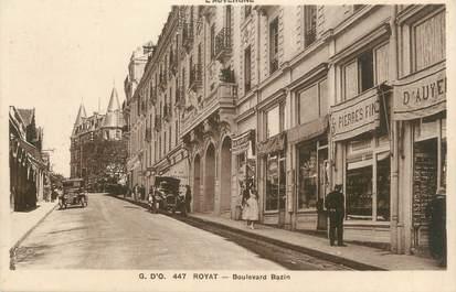 "CPA FRANCE 63 "" Royat, Boulevard Bazin"""