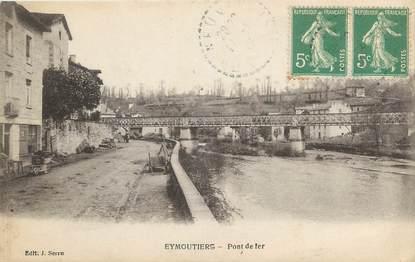 """CPA FRANCE 87 """" Eymoutiers, Pont de fer"""""""