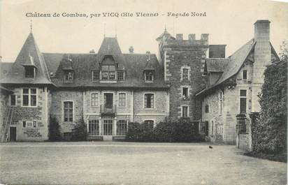 "CPA FRANCE 87 ""Combas, Le château"""