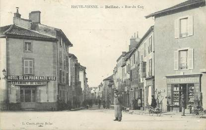 """CPA FRANCE 87 """"Bellac, Rue du Coq"""""""