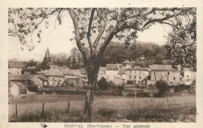 """CPA FRANCE 87 """"Marval, Vue générale"""""""