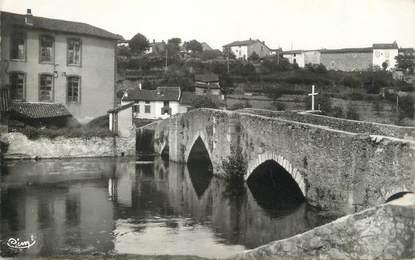 """CPSM FRANCE 87 """"Bellac, Le vieux pont"""""""