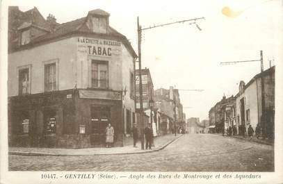 """CPA FRANCE 94 """"Gentilly, Angle des Rues de Montrouge et des Aqueducs"""""""