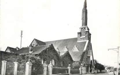 """CPSM FRANCE 94 """"Alfortville, L'église St Pierre et le Presbytère"""""""