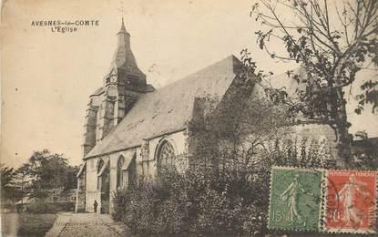 "CPA FRANCE 62 ""Avesnes le Comte, l'Eglise"""