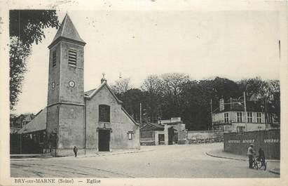 """CPA FRANCE 94 """" Bry sur Marne, L'église"""""""