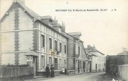 "CPA FRANCE 76 ""Montigny par St Martin de Boscheville"""